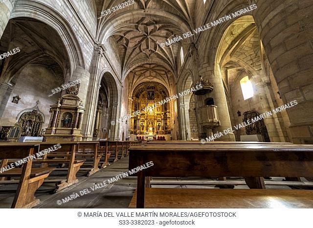Church in Vinuesa. Soria. Spain. Europe