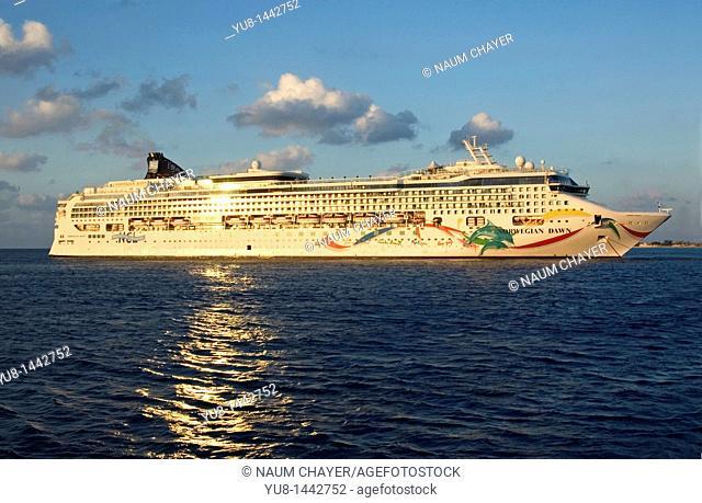 Norwegian Dawn cruise ship, Cruise, Western Caribbean