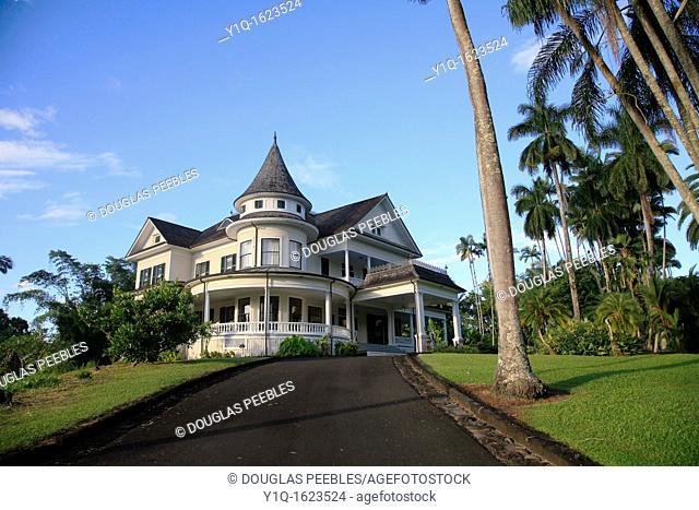 Shipman House, Hilo, Island of Hawaii, USA