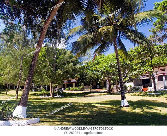 Holiday bungalow resort on Diani Beach Kenya