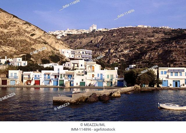 Cyclades, Milos, Klima