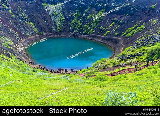 Kerid Crater, Southern Region, Iceland