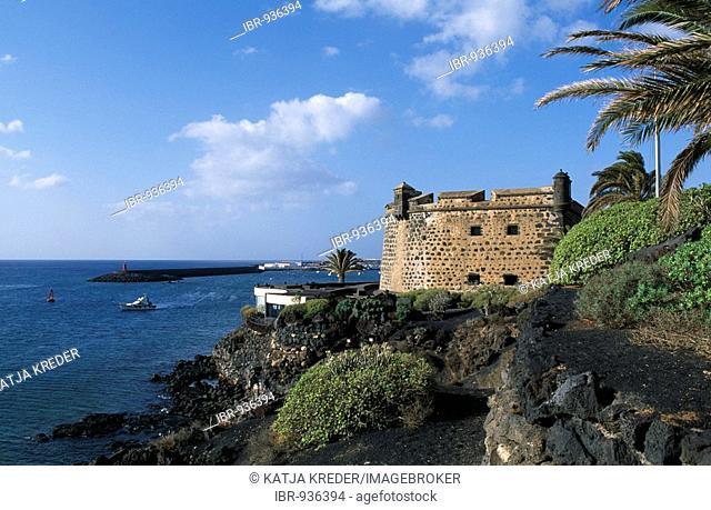 Castelo de San Jose in Arrecife, Lanzarote, Canary Islands, Spain, Europe