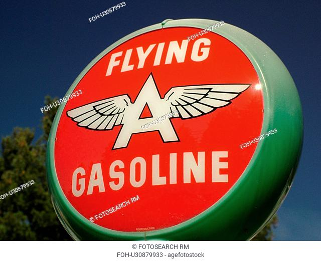 Littletown, NH, New Hampshire, Antique Gas Station Signs, fuel companies