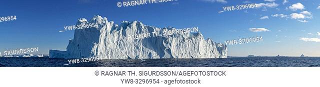 Icebergs, Scoresbysund, Iceland