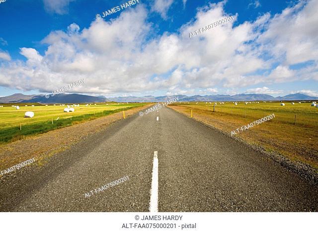 Route 1 between Jokulsarlon and Egilsstadir, Iceland