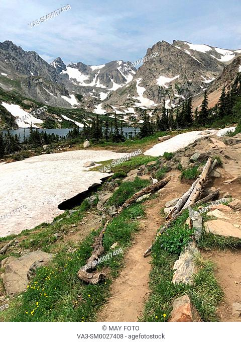 Ward, Indian Peaks Wilderness, Colorado, United States