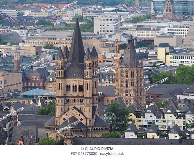 Koelner Rathaus (Town Hall) building in Koeln, Germany