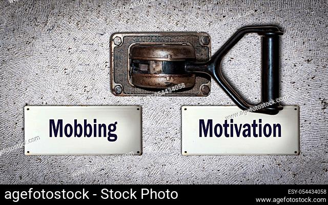 Wall Switch the Direction Way to Motivation versus Mobbing