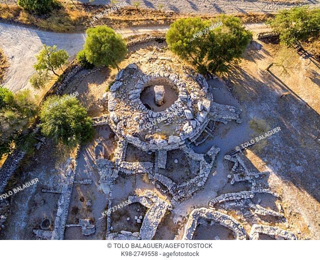 Son Fornés , época talayótica (siglo X a. C. ) , yacimiento arqueológico de era prehistórica. Montuiri,Majorca, Balearic Islands, Spain