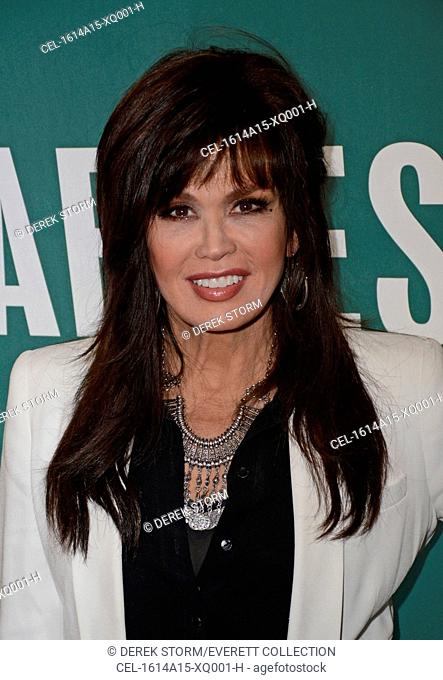 Marie Osmond at in-store appearance for Marie Osmond Book Signing for MUSIC IS MEDICINE, Barnes and Noble Book Store, New York, NY April 14, 2016