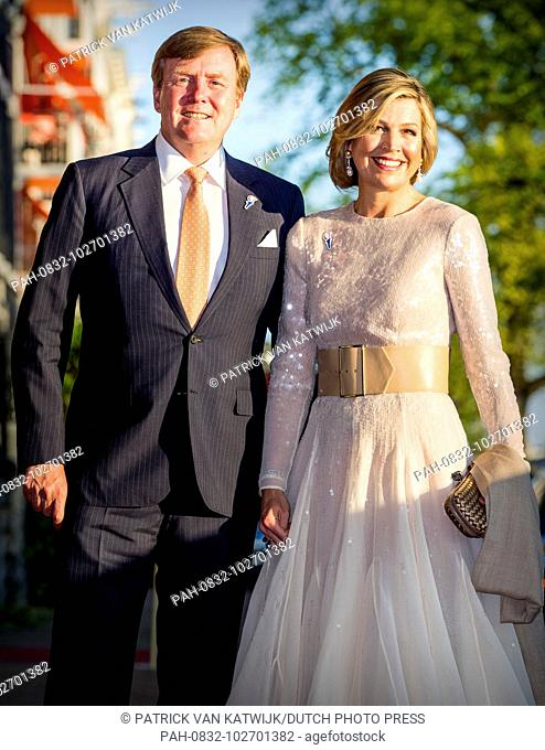 King Willem-Alexander and Queen Maxima of The Netherlands attend the annual liberation day concert on the Amstel in Amsterdam, The Netherlands, 5 May 2018
