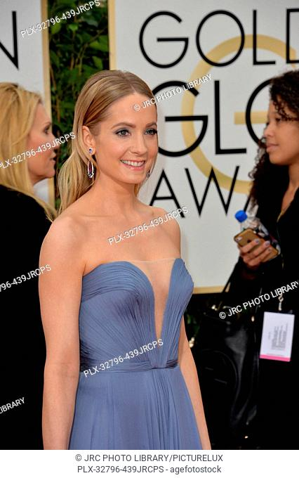 Joanne Froggatt at the 73rd Annual Golden Globe Awards at the Beverly Hilton Hotel. January 10, 2016 Beverly Hills, CA