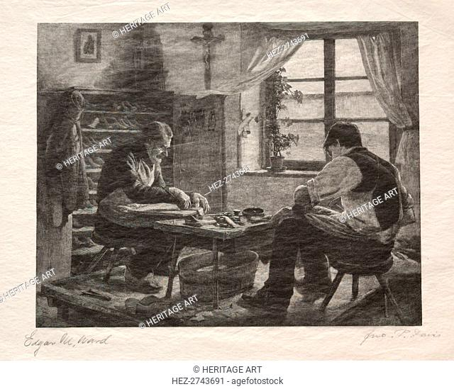 The Cobblers, 1887. Creator: John Parker Davis (American, 1832-1910)