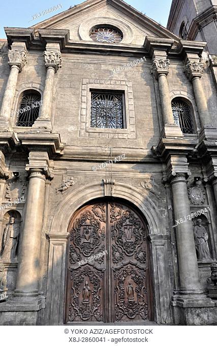 Philippines, Luzon island, Manila, st. Augistin church