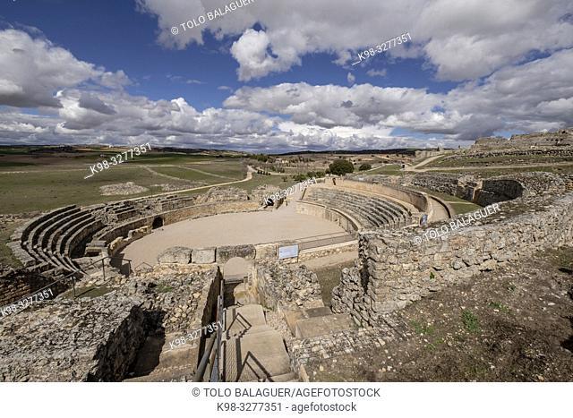 Anfiteatro de Segóbriga, parque arqueológico de Segóbriga, Saelices, Cuenca, Castilla-La Mancha, Spain
