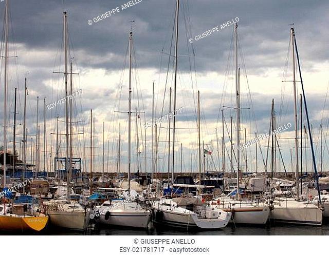 Boats, Grignano pier