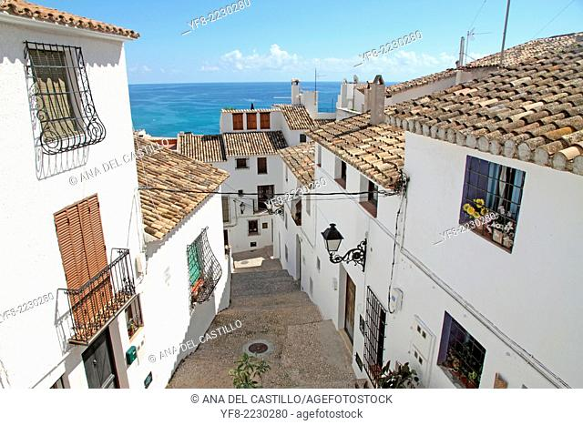 Altea town Costa Blanca Alicante Spain