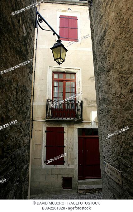 the village of Olargues, Languedoc, southern France