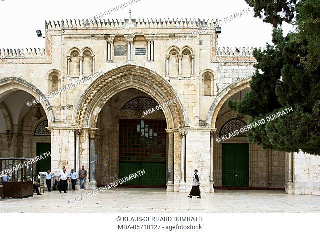 Israel, Jerusalem, Temple Mount, El-Aksa Mosque, religion, Islam, shrine, portal