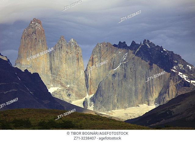 Chile, Magallanes, Torres del Paine, national park,