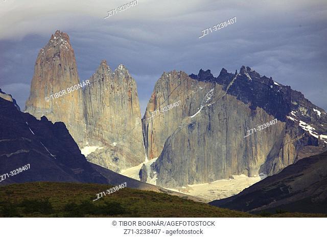 Chile, Magallanes, Torres del Paine, national park,