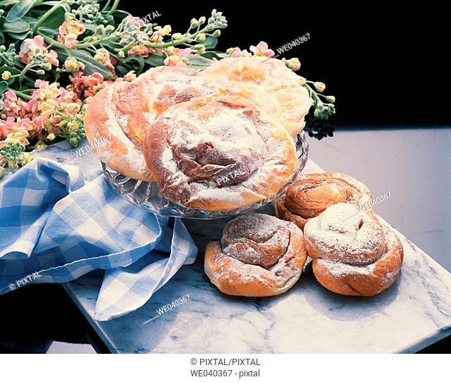 'Ensaimadas' pastries