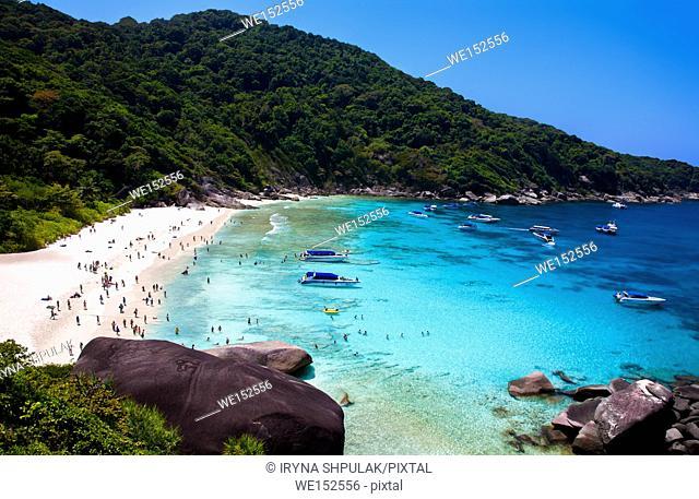 Beach of Ko Similan Island, Similan Islands, Andaman Sea, Thailand