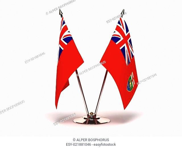 Miniature Flag of Manitoba
