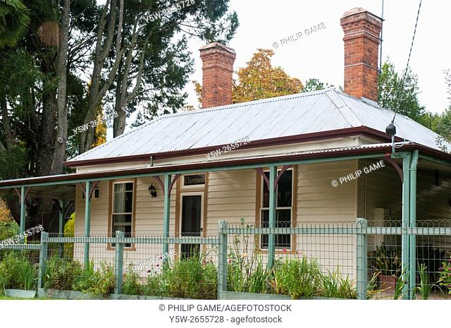 Former bakery residence at Wandiligong in the Ovens Valley, northeast Victoria, Australia
