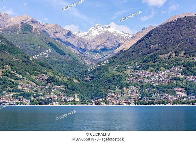 Gravedona, Northern branch of Lake Como, Como district, Lombardy, Italy