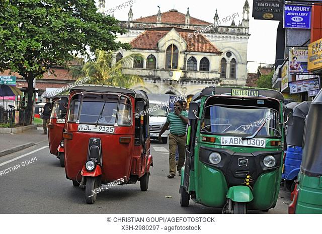 Sea Street, Pettah neighbourhood, Colombo, Sri Lanka, Indian subcontinent, South Asia