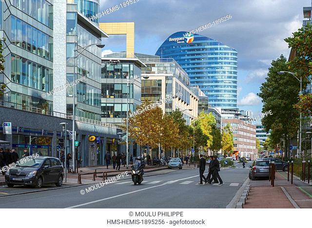 France, Hauts de Seine, Issy les Moulineaux, Rue Camille Desmoulins