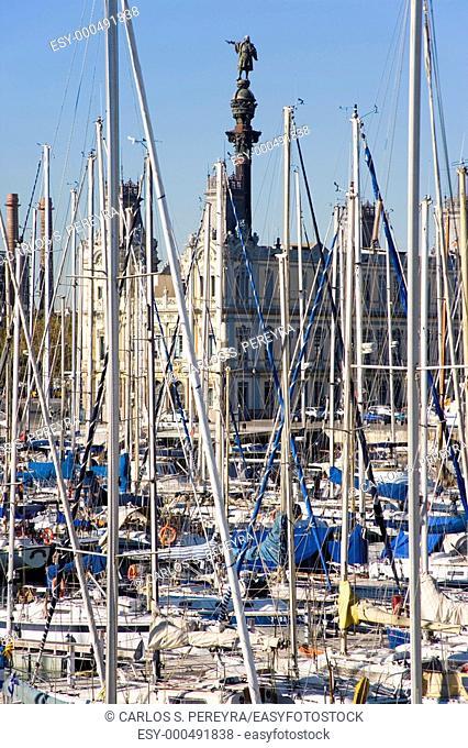 Port Vell, Barcelona, Catalonia, Spain
