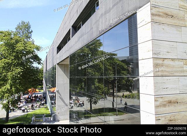 Kunsthal museum Rotterdam Holland Netherlands