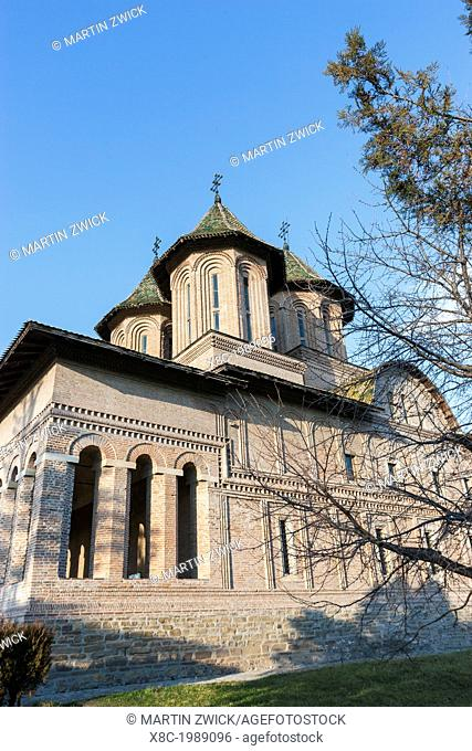 The church Domenica biserica of the princely court in Targoviste. The princely court (curtea palace) was the first residence of Vlad Tepes aka Dracula