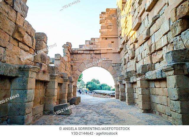 Ancient Tyndaris ruins, Sicily