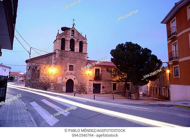 Parish church of Nuestra Señora de la Asuncion in El Vellon, Madrid, Spain