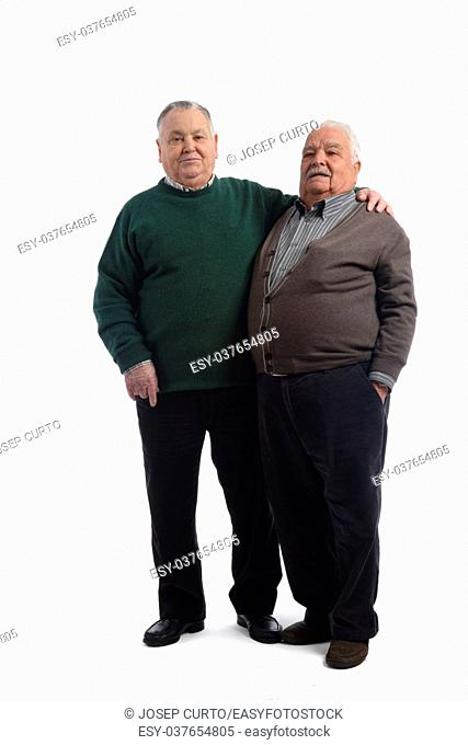 Two senior friends