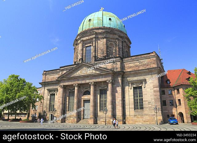 St Elizabeth Church, Nuremberg, Bavaria, Germany