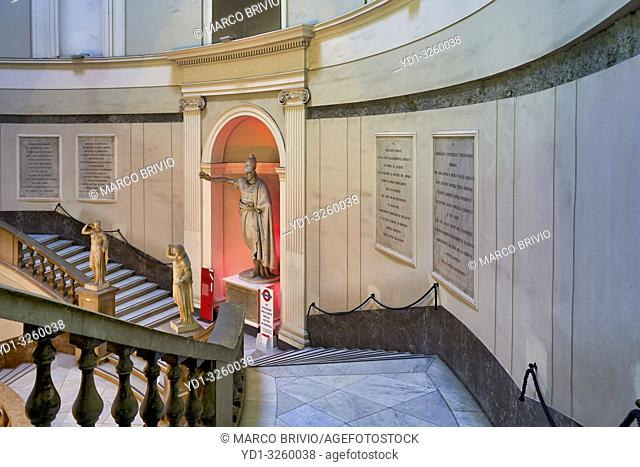 Naples Campania Italy. TheNational Archaeological MuseumofNaples(Museo Archeologico Nazionale di Napoli) is an important Italian archaeological museum