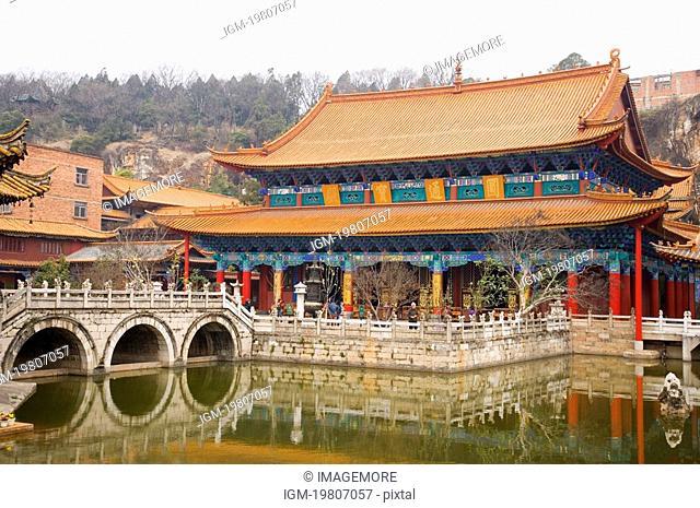 China, Yunnan Province, Kunming, Yuantong Temple