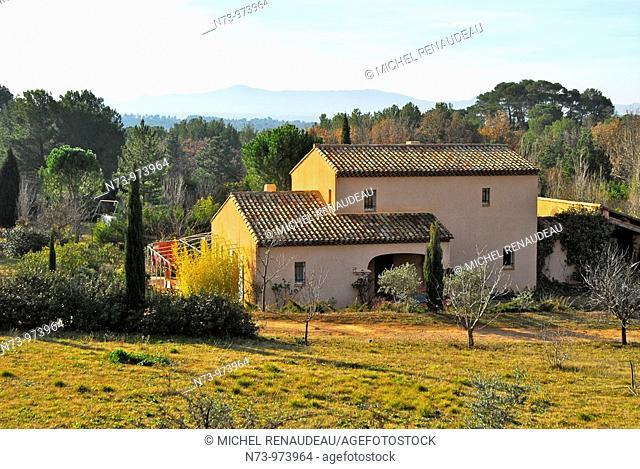 France, Bouches-du-Rhône, provence, la Montagne Sainte-Victoire
