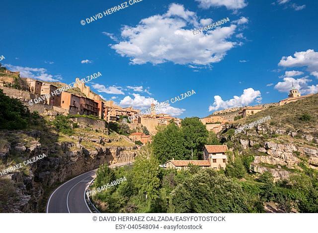 Albarracin, medieval village in teruel, Spain