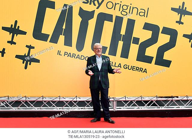 Giancarlo Giannini during 'Catch-22' TV show photocall, Rome, Italy - 13 May 2019