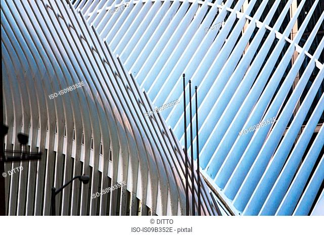 Oculus structure, One World Trade Centre, New York City, New York, USA