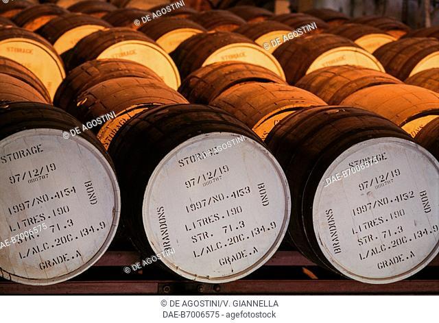 Rum barrels, Brandons, Barbados