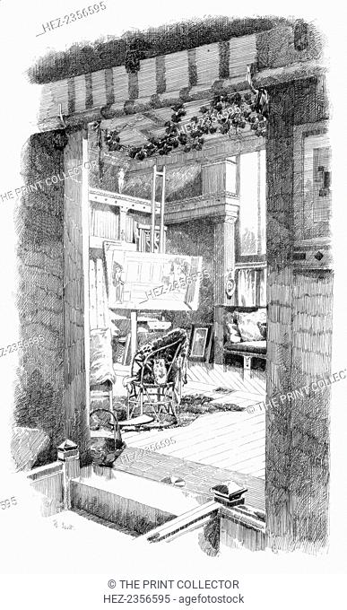 'The Studio', c1880-1882. A print from Modern Artists, prepared under the direction of FG Dumas, JS Virtue and Co, London, c1880-1882