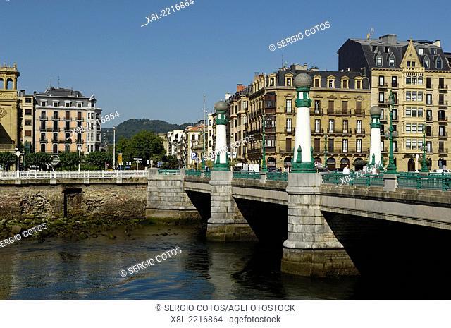 Kursaal Bridge, San Sebastian, Guipúzcoa, Basque Country