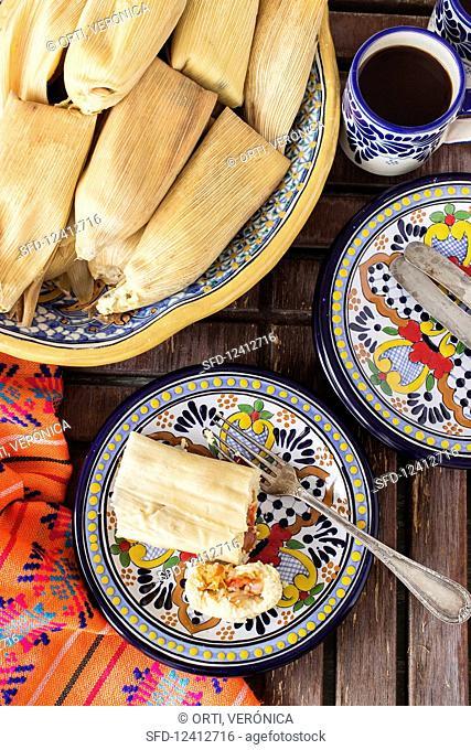 Stuffed Tamales (Mexico)